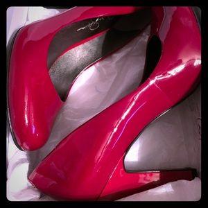 Jessica Simpson Chilli Red pumps size 8.5